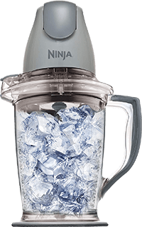 Ninja (QB900B), Silver Blender [400-Watt] with 48-Oz Pitcher and 16-Oz Chopper Bowl
