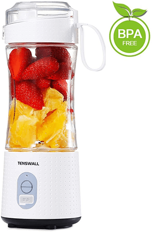 TENSWALL USB Rchargeable Handheld Portable Blender - 13oz