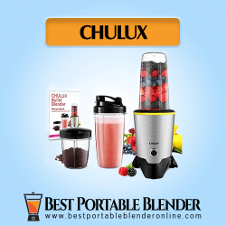 CHULUX Bullet Blender with to go portable cups