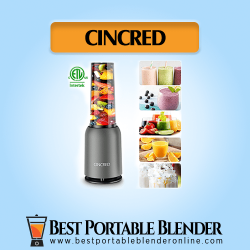 Cincred Personal Countertop Blender - [Updated 2020 Version] with versatile recipes you can make