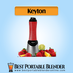 Keyton Personal Smoothie maker cum single serve sports bottle and fruit ingredients
