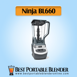Ninja (BL660) - [Professional Countertop Blender] side view