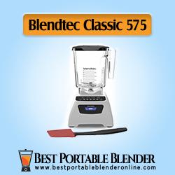 Blendtec Classic 575 Blender WildSide - Professional Grade Power Blender with 90-Oz Jar & Spoonula Spatula Bundle - White Color [High End Choice]