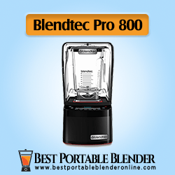 Blendtec Professional 800 - Black Portable Blender for Crushing Ice [High-End Choice]