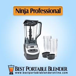 Ninja Professional Countertop Blender (1100-Watt) Base, 72-Oz Pitcher and (2x) Nutri Ninja Cups [Best Seller on Amazon]