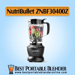 NutriBullet (ZNBF30400Z) Portable Blender for Crushing Ice 1200 Watts, Dark Gray