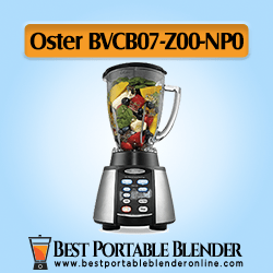 Oster (BVCB07-Z00-NP0) Counterforms Blender filled with fruit ingredients – with Reverse Crush Technology