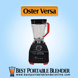 Oster Versa Blender with Low Profile Jar - [Perfect for Smoothies & Soups] Black Color