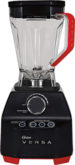 Oster Versa Blender with Low Profile Jar - [Perfect for Smoothies & Soups] Black
