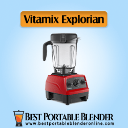 Vitamix Explorian Blender Red Color- [Professional's Choice]