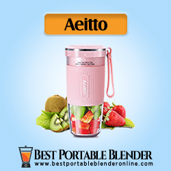 Aeitto Portable Blender for Travel filled with fruits ingredients - Cordless Juice Maker