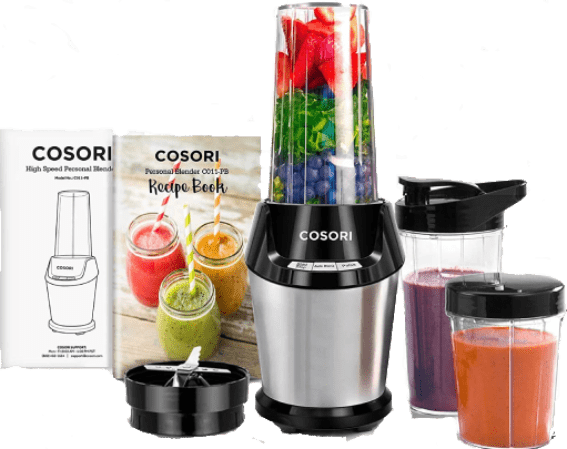 COSORI [C011-PB] - Auto-Blend ETL Listed FDA Compliant, Portable Blender for Travel