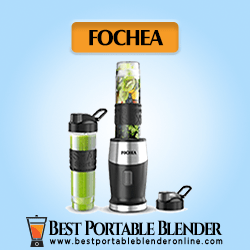 Fochea Smoothie Blender – with (2 * 20-Oz) Travel Cups [Experts' Choice]