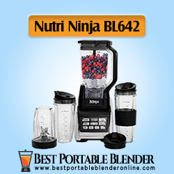 Nutri Ninja Personal and Countertop Blender (BL642) - [Experts' Choice]