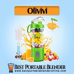 Olivivi Mini Portable Blender - USB Rechargeable Travel Mixer Green