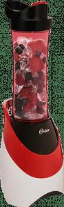 Oster BLSTPB-WRS My Blend 250-Watt Portable Blender for Travel, Red