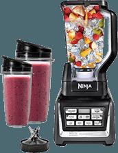 SharkNinja - BL641 Food Blender, One Size, Black-Silver
