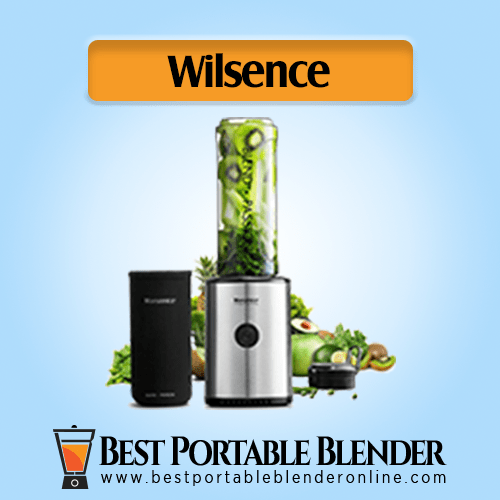 Willsence Smoothie Blender filled with veggies ingredients – 300 Watts with Protective Sleeve