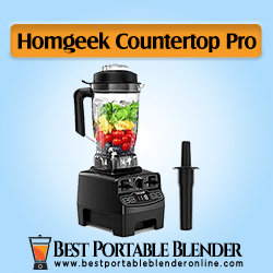 Homgeek Professional Countertop Blender 1450W - [2020 Updated]