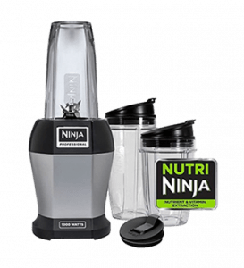 Ninja BL455_30 Nutri Professional Personal Blender Bonus Set with 3-Sip & Seal Single Serves & 75-Recipe Cookbook