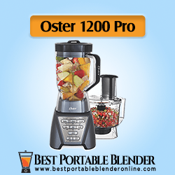 Oster Pro 1200 Blender with Tritan Jar and Food Processor - [High-End]