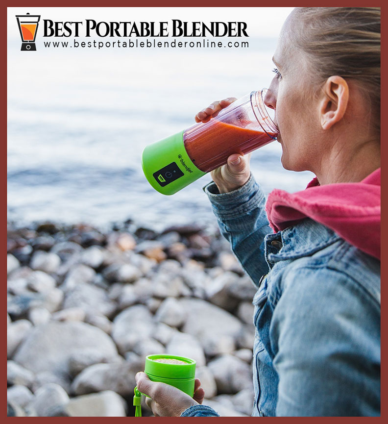 a-mountaineer-hiker-blonde-woman-drinking-smoothie-on-the-go-in-blendjet-one-blender-while-hiking