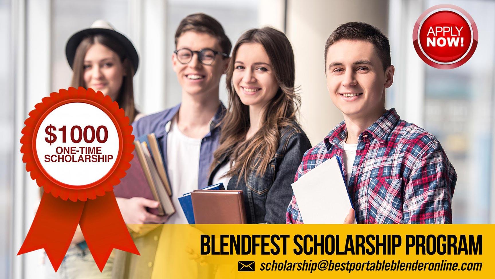 blendfest-scholarship-program-best-portable-blender-online