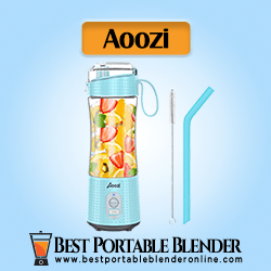 Aoozi Protein Shake Blender with 4000mAh USB Rechargeable Battery