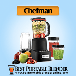 Chefman Countertop + Travel Dynamic Blender - 12 Pcs Complete Set