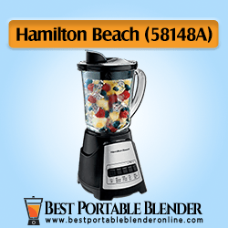Hamilton Beach Power Elite Blender (58148A) with 12 Functions