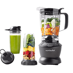 NutriBullet ZNBF30500Z Combo 1200 Watt High-End Blender for protein shakes