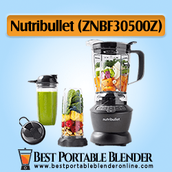 NutriBullet (ZNBF30500Z) Shake Blender Combo - [High-End Choice]