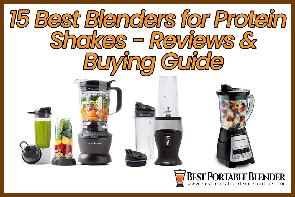 best-blenders-for-protein-shakes