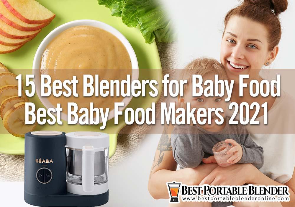 best-blenders-for-baby-food-2021